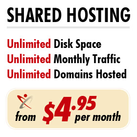 Shared Web Hosting Packages