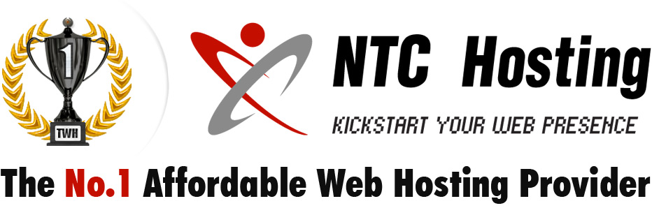 NTC Hosting - The No.1 Affordable Web Hosting Provider.