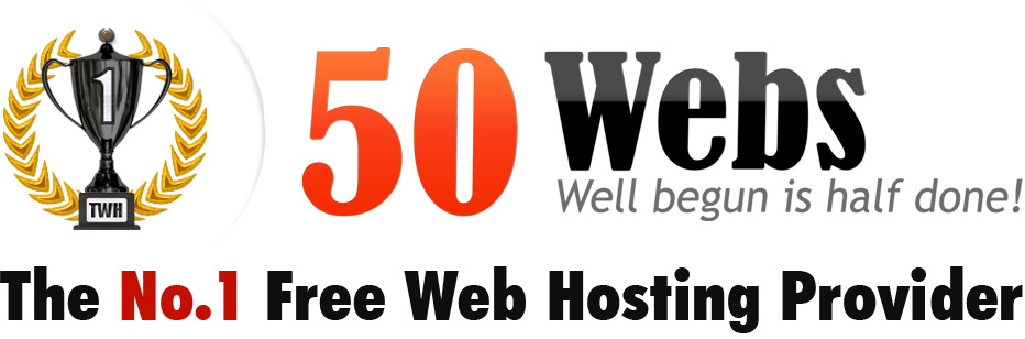 50Webs - The No.1 Free Web Hosting Provider.