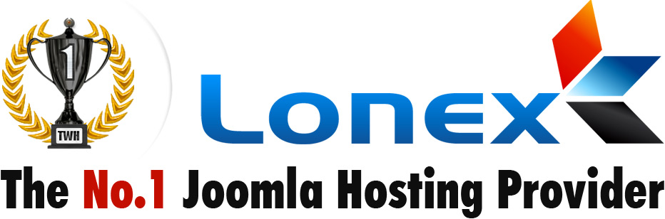 Lonex - The No.1 Joomla Hosting Provider.