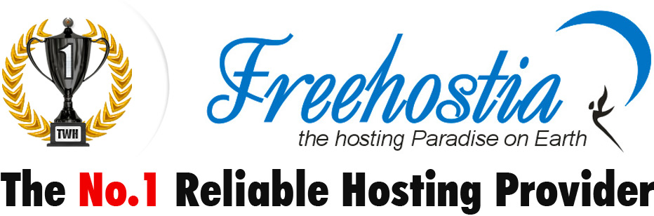 Freehostia - The No.1 Reliable Hosting Provider.